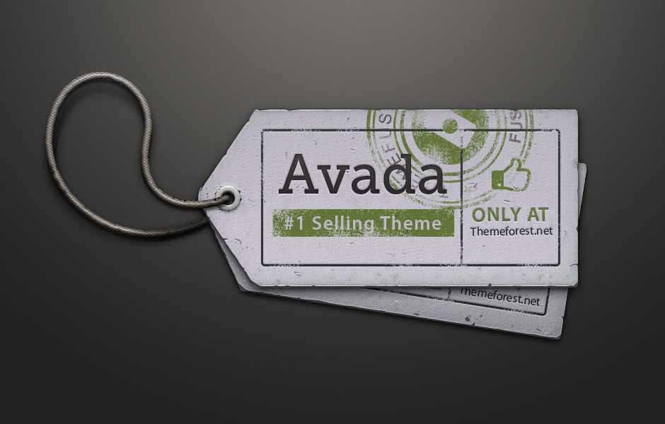 avada theme price tag logo