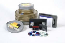 iStock film tapes and dvd