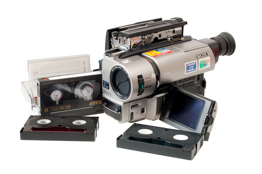 8mm tapes camcorder